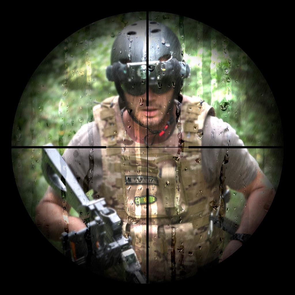 Military-sim laser tag
