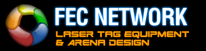 Commercial laser tag equipment logo