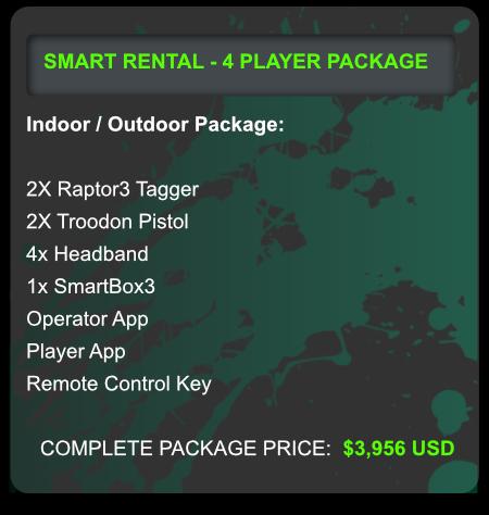 laser tag smart rental program for outdoor laser tag fun