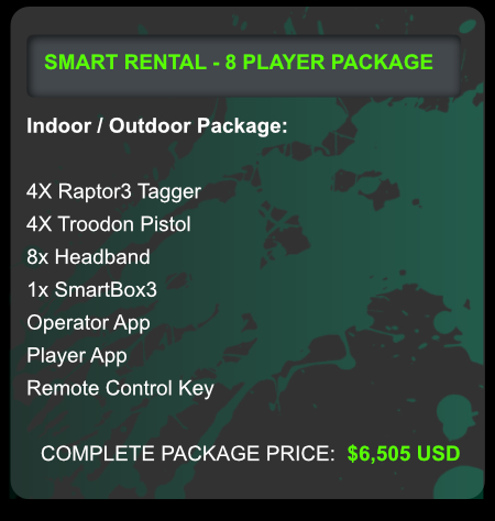 laser tag rentals for adventure parks and campgrounds